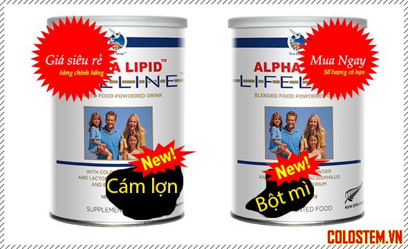 giá sữa non alpha lipid
