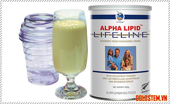 Cách sử dụng sữa non alpha lipid