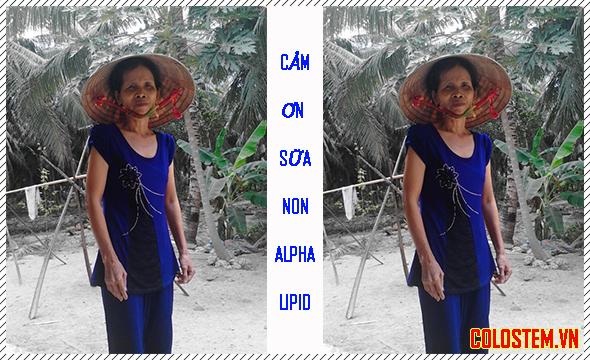 Sữa non alpha lipid giúp mẹ tôi khỏe mạnh