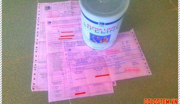 3 loại hóa đơn khi mua sữa non alpha lipid chính hãng