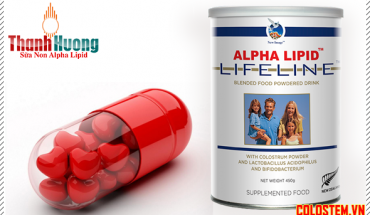 sữa non alpha lipid chữa bệnh