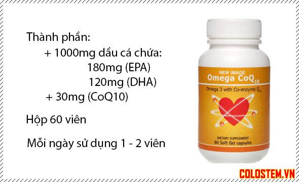 Thành phần Omega CoQ10