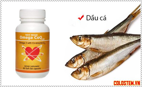 Dầu cá omega coq10