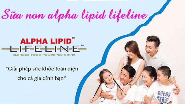Sữa non alpha lipid kết nối yêu thương