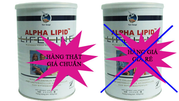 Sữa non alpha lipid trôi nổi
