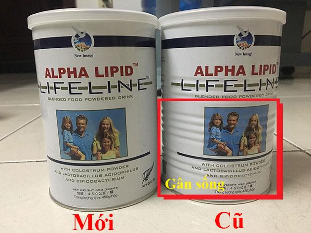 Sữa non alpha lipid mẫu mã mới
