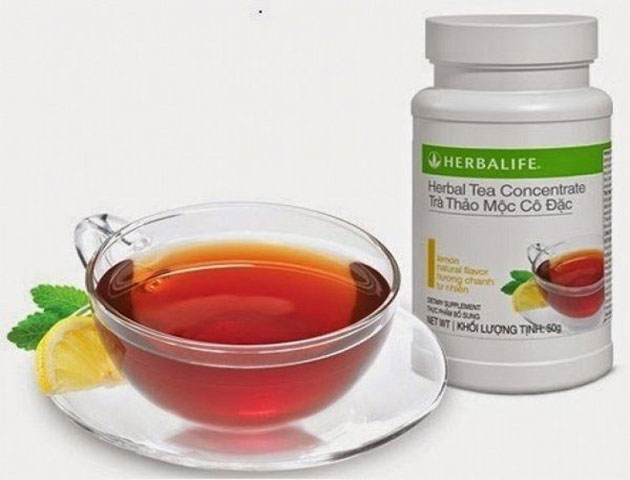 Cách sử dụng herbalife tea concentrate