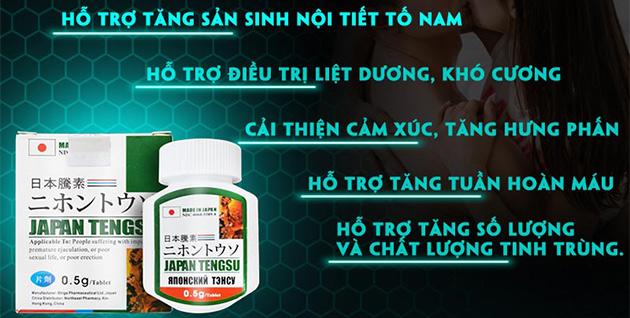 Thuốc Japan Tengsu cường dương, tăng cường sinh lý nam